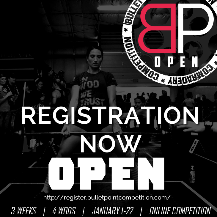 BulletPoint online Crossfit competition
